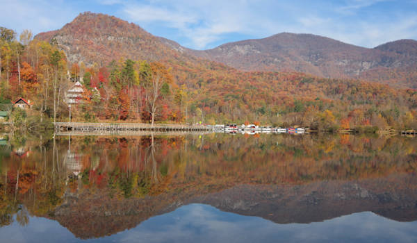 Lake Lure After Fire
