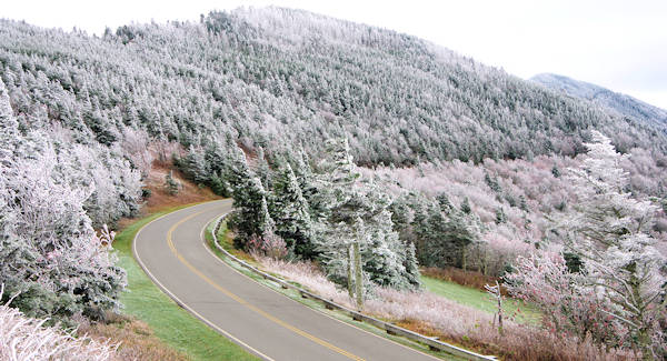 Mt Mitchell Rime Ice