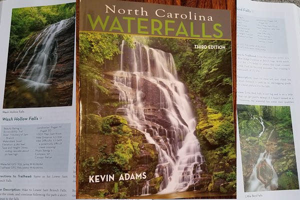 Kevin Adams NC Waterfalls Book