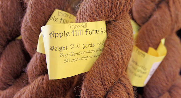 Apple Hill Farm Alpaca Yarn
