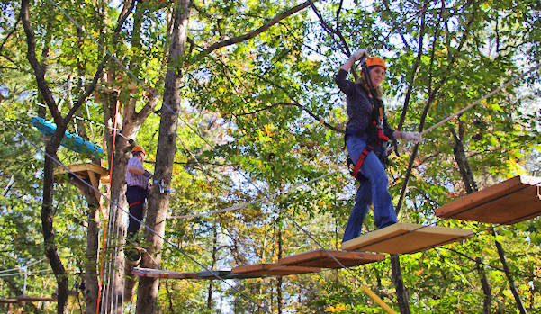 Asheville Treetops Adventure