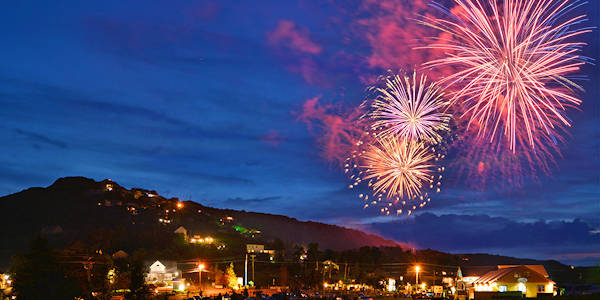 Beech Mountain July 4th Fireworks