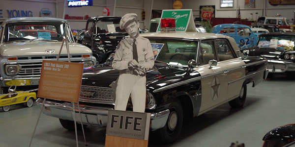 1963 Mayberry Sheriff's Car