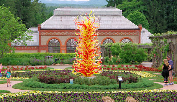 Chihuly At Biltmore Exhibition 2018