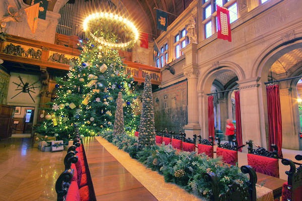 Biltmore House Banquet Hall Christmas Tree