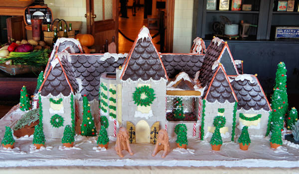 Biltmore House Gingerbread House