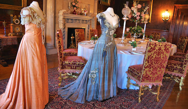Biltmore House Costumes Breakfast Room