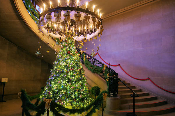 Biltmore House Christmas Staircase