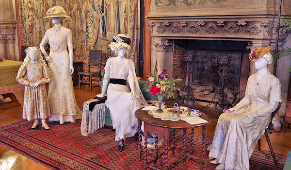 Titanic Movie Costumes in Biltmore House