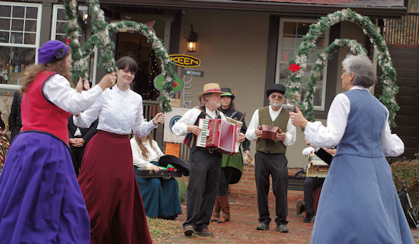 Dickens celebration Biltmore Village