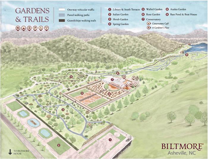Biltmore House Gardens Top Spots