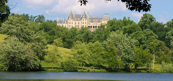 Biltmore House Rear View