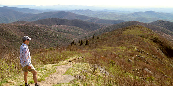 Black Balsam Knob Hike