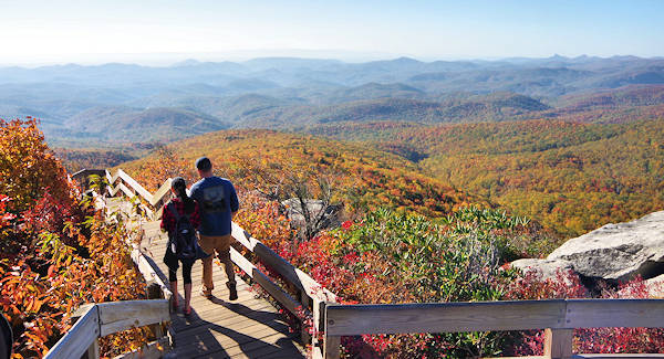 Blue Ridge Parkway Top 50 Spots Asheville Nc
