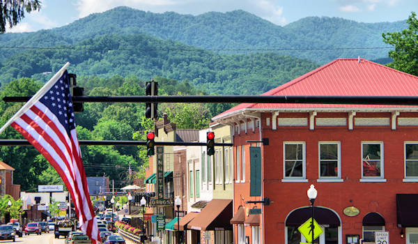 Bryson City NC Downtown