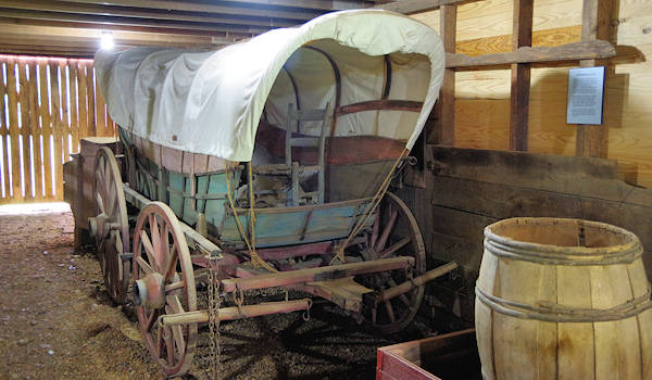 Carson House Covered Wagon
