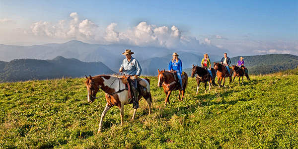 Cataloochee Ranch Horseback Riding