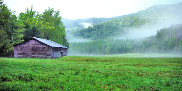Cataloochee Valley Barn