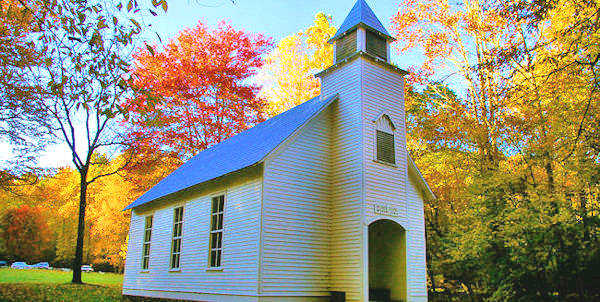 Palmer Chapel, Cataloochee Valley