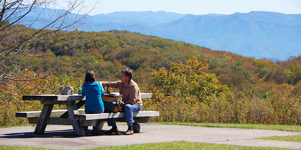 Cherohala Skyway Picnic