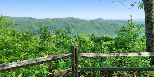 Chestoa Trail, Blue Ridge Parkway
