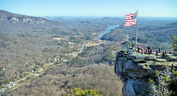 Chimney Rock Park Hike