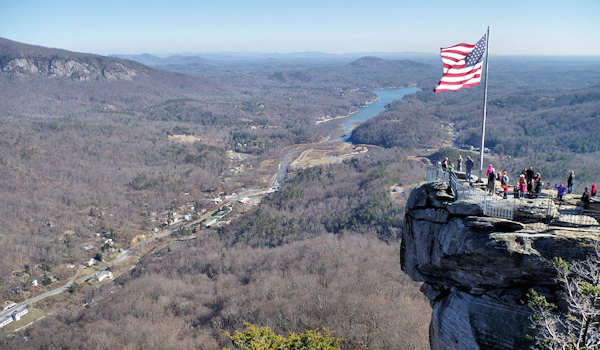 Chimney Rock Santa Claus
