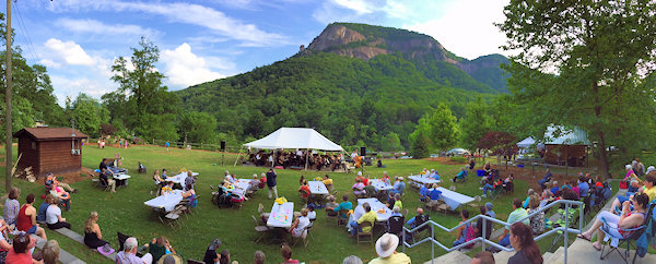 Chimney Rock NC Concert