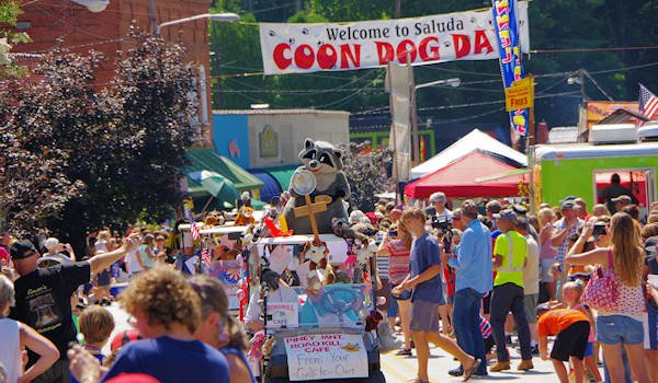 Coon Dog Day, Saluda NC