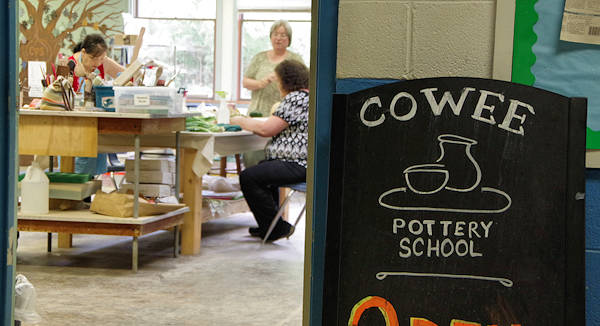 Cowee Pottery School