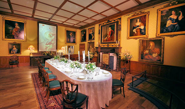 Downton Abbey Dining Room Exhibition