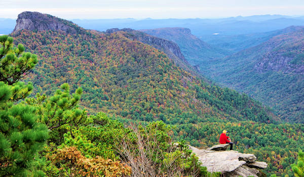 Linville Gorge Fall Color