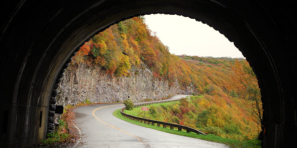 Craggy Gardens Tunnel on Blue Ridge Parkway