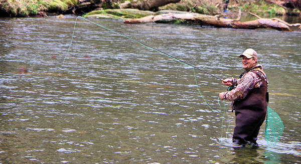 Fly fishing in asheville nc mountains for Fishing spots in nc