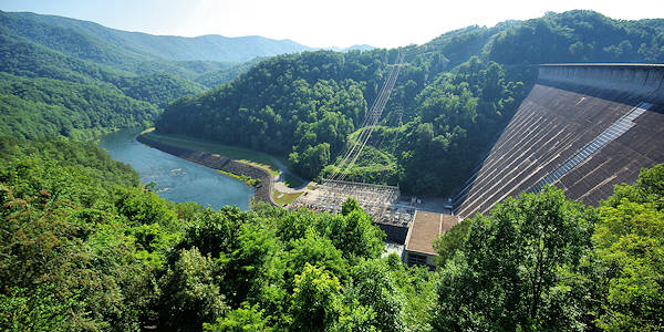 fontana dam chat sites Fontana dam swain county, north carolina at 480 feet, fontana dam is the tallest concrete dam east of the rockies, producing hydroelectric power from the little tennessee river and forming.