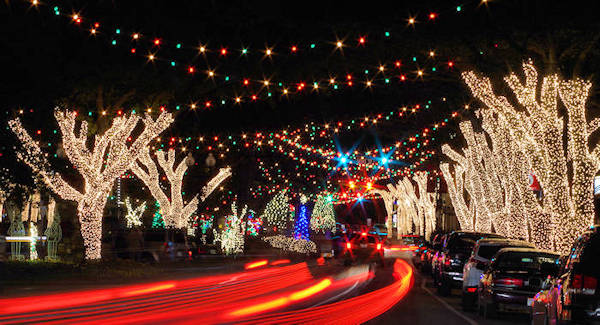 Forest City NC Christmas Lights
