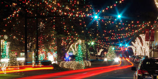 Forest City Christmas Lights