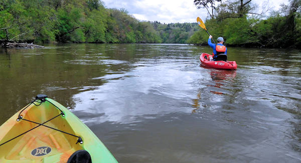 Kayak French Broad River Asheville