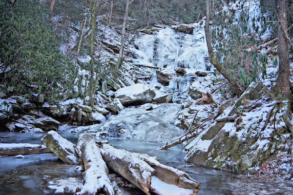 Frozen Catawba Falls, NC
