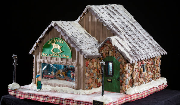 Gingerbread House Grove Park Inn Winner 2018 3rd Youth