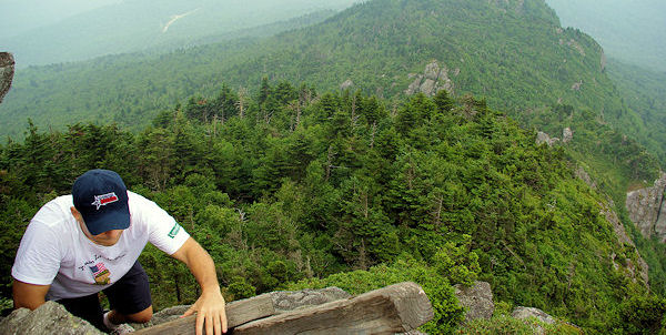 Hiking on Grandfather Mountain