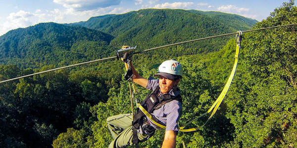 Green River Gorge Zipline