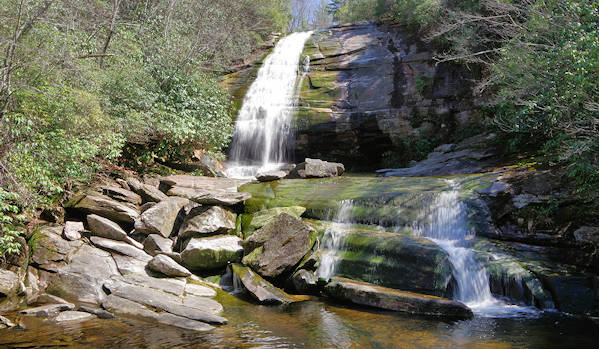 Greenland Creek Falls, Panthertown