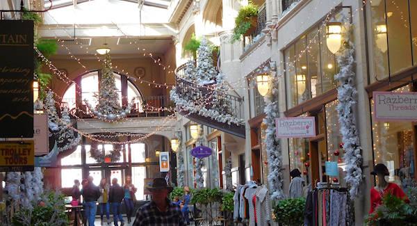 Grove Arcade Downtown Asheville