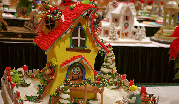 Grove Park Inn Gingerbread House Competition