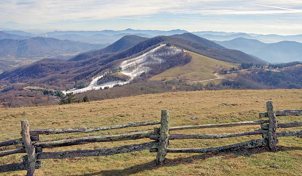 Cataloochee Ski from Hemphill Bald