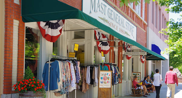 Hendersonville NC Downtown Mast General Store