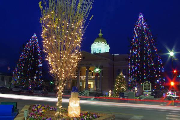 12 Christmas Towns near Asheville, NC