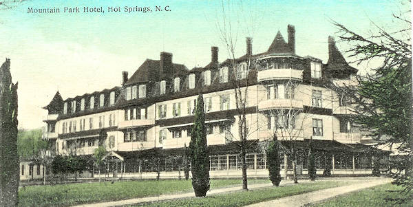 Mountain Park Hotel, Hot Springs
