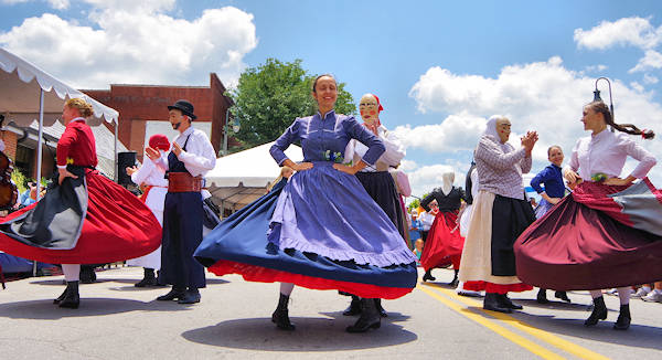 International Day Festival, Folkmoot Waynesville